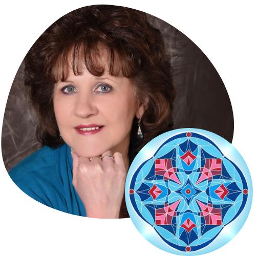 persönliches Mandalaskop Alvina Fuchs Feedback Christina Baumann