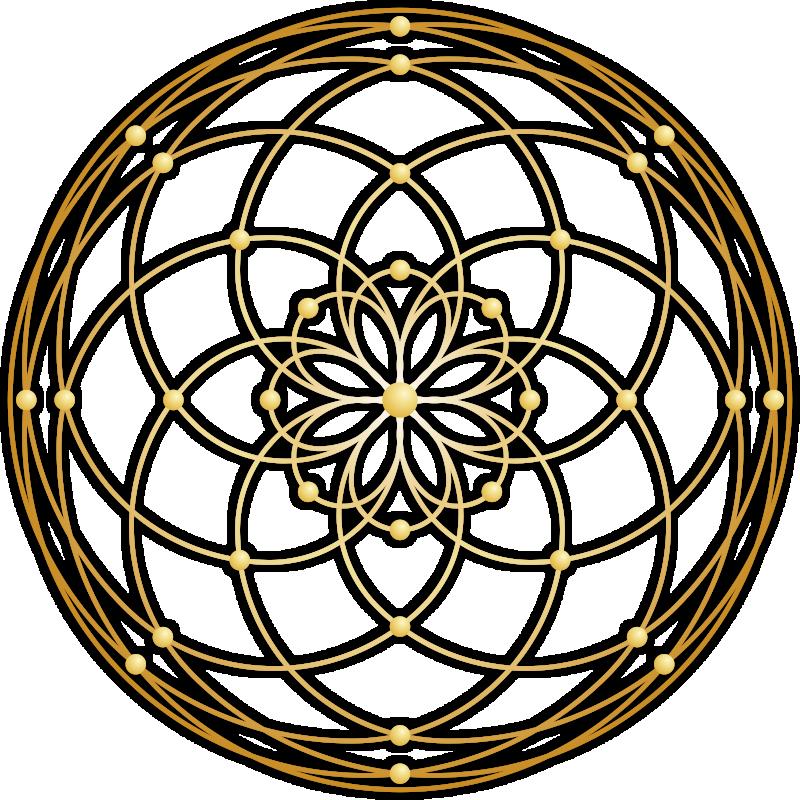 persönliches Mandalaskop Alvina Fuchs Logo