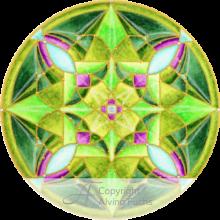 persönliches Mandalaskop Alvina Fuchs Online-Galerie Beispiel